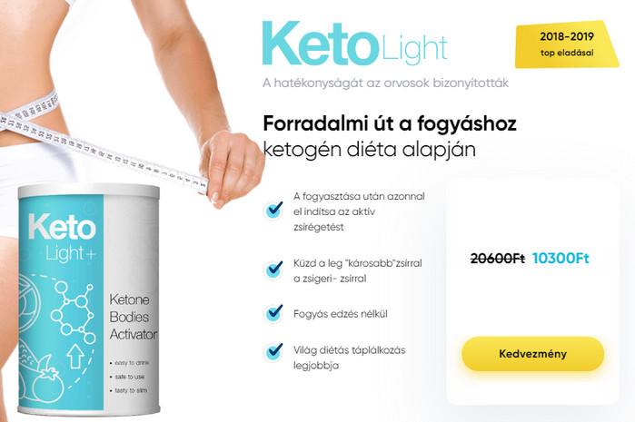Keto Light Plus ital – vélemények 2021 – fórum, ár, gyógyszertár, összetétele