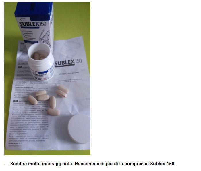 SUBLEX-150 Italia, prezzo, opinioni, come si applica..